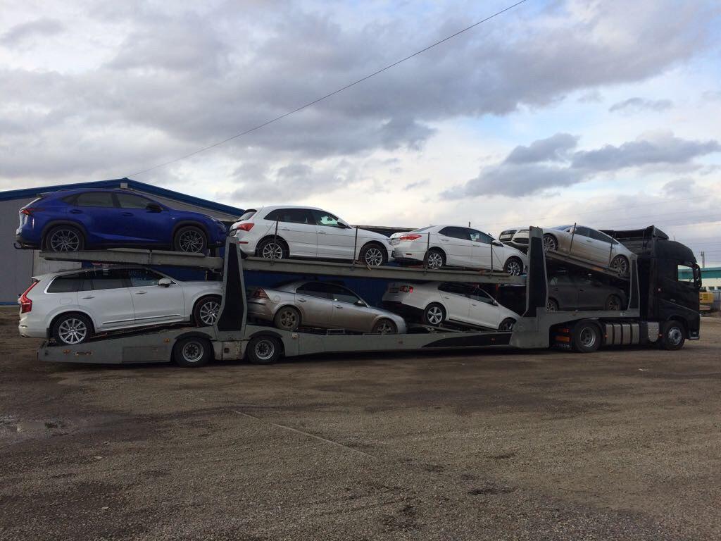 Доставка автомобилей в другой город