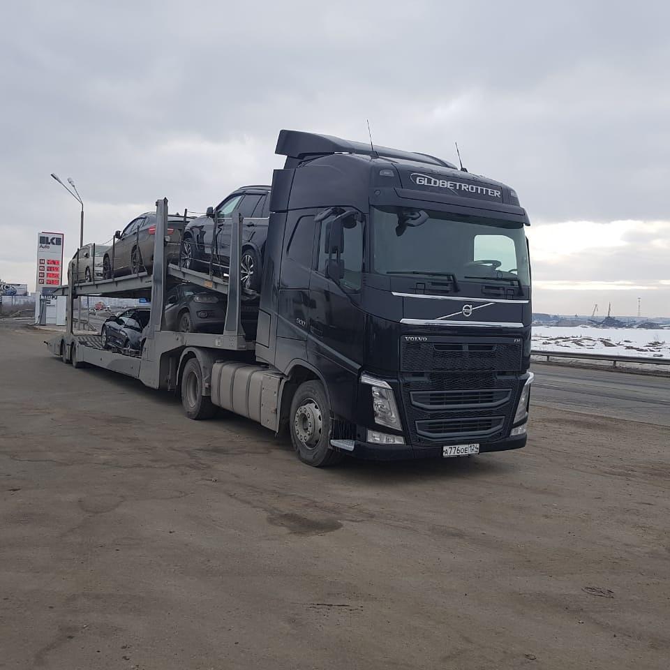 Перевозка автомобилей автовозами по России.