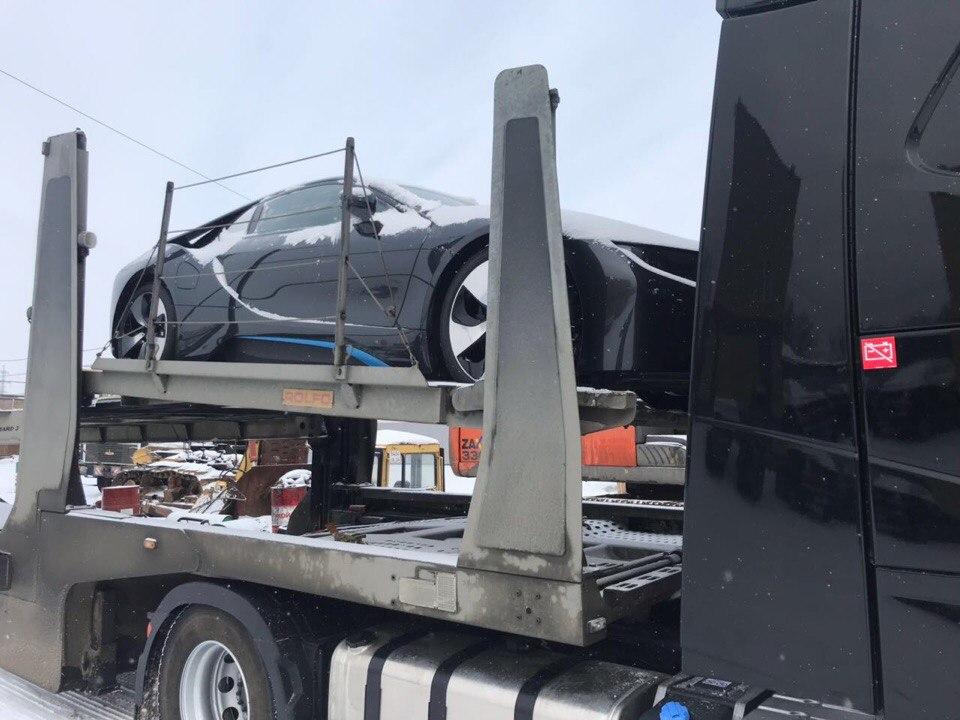 Доставка авто по России