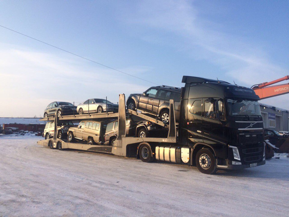 Перевозка автомобилей автовозами по России Autotravel24
